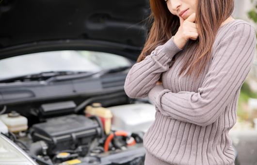 女性は車のことが苦手